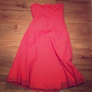 JCrew Strapless Dress (size 6)